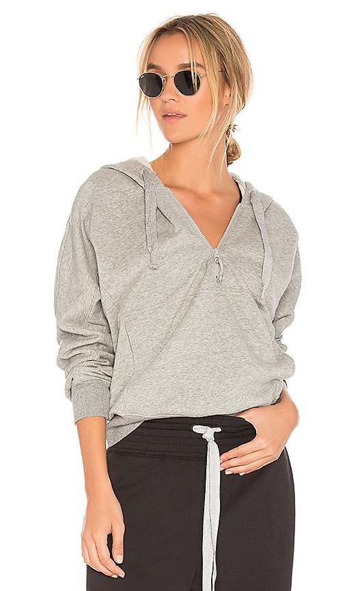 Free People Think Future Hoodie in Gray