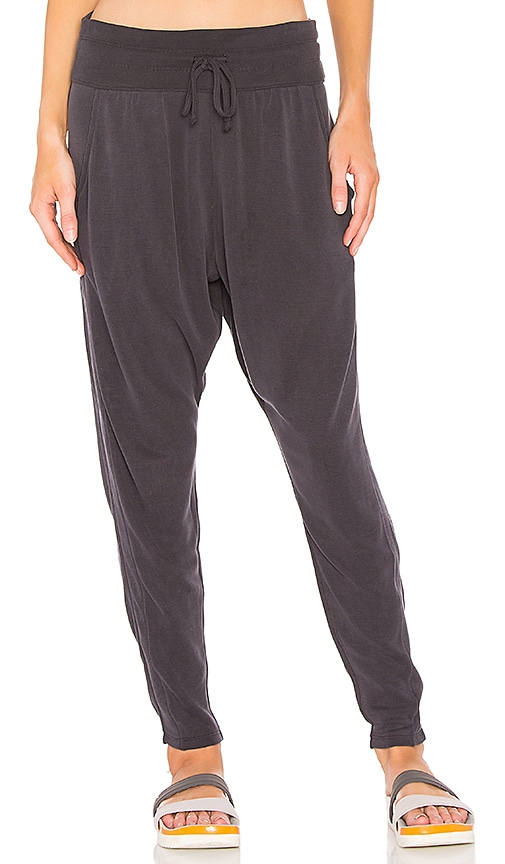Free People Yella Harem Jogger in Black
