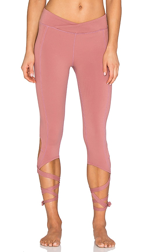 Free People Turnout Legging in Mauve