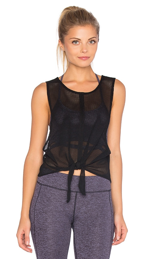 Free People Dharma Tank in Black