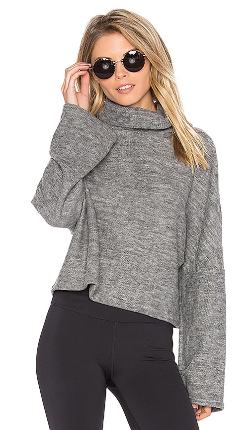 Free People Brushed Nova Top in Gray