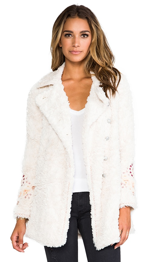 Swing Faux Fur Coat