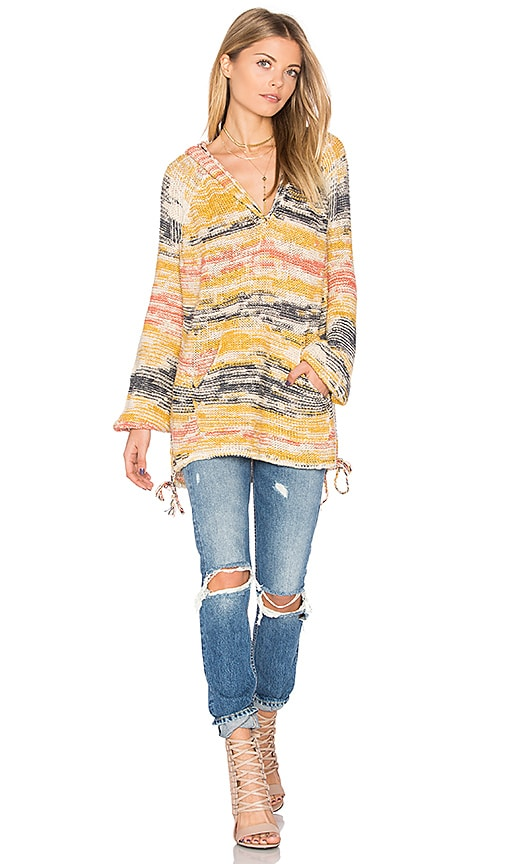 Free People Snowcone Hoodie in Blue
