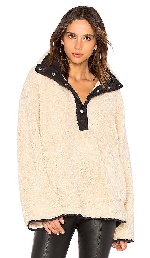 Free People Oh So Cozy Pullover in Beige