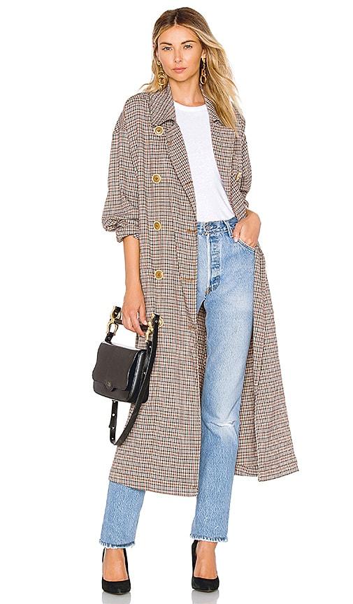 Melody Menswear Trench Coat