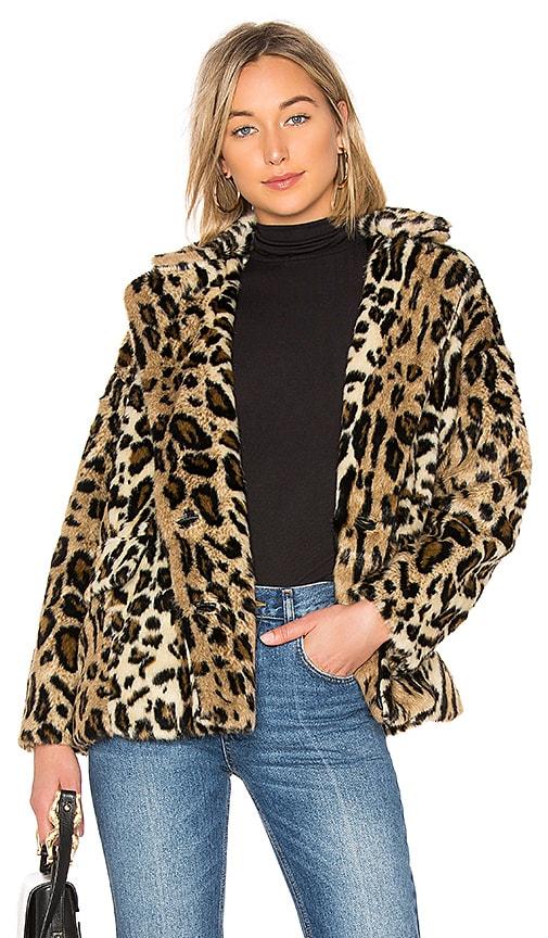 464e6ec5feef Kate Faux Fur Leopard Coat. Kate Faux Fur Leopard Coat. Free People