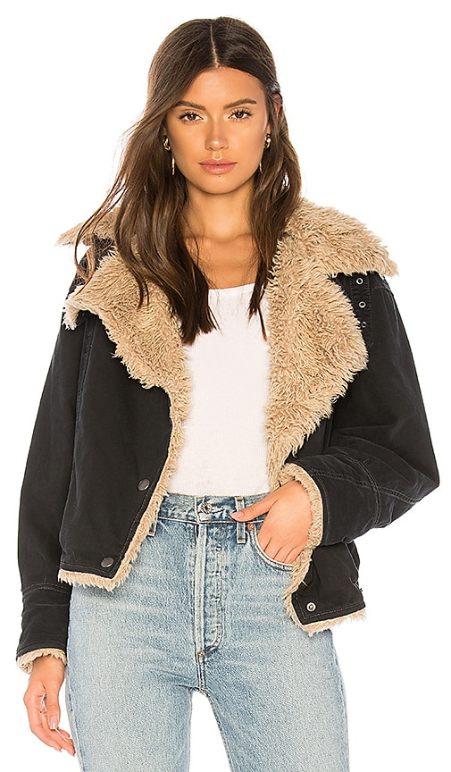 Owen Faux Fur Sherpa Jacket
