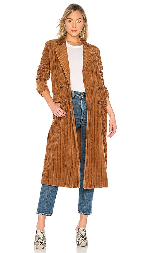 Abby Road Corduroy Duster