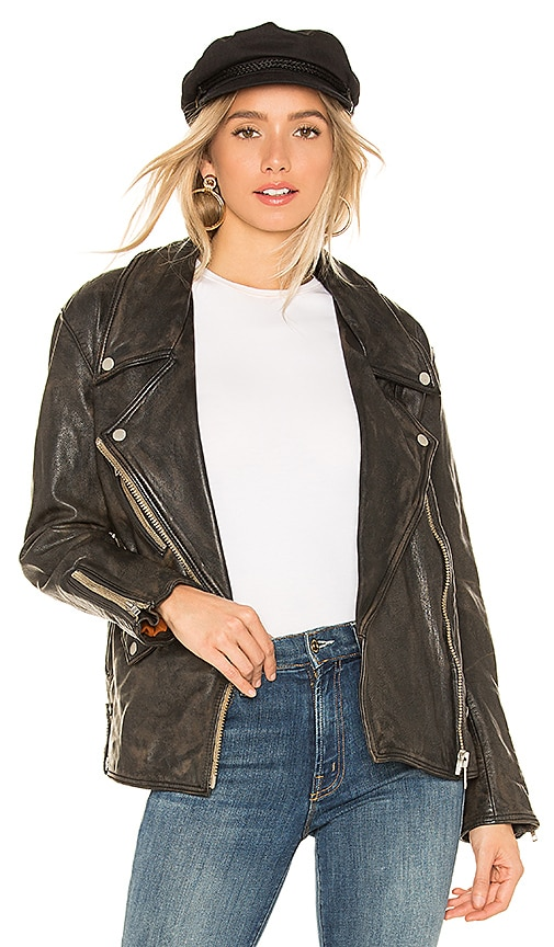 Jealousy Leather Moto Jacket
