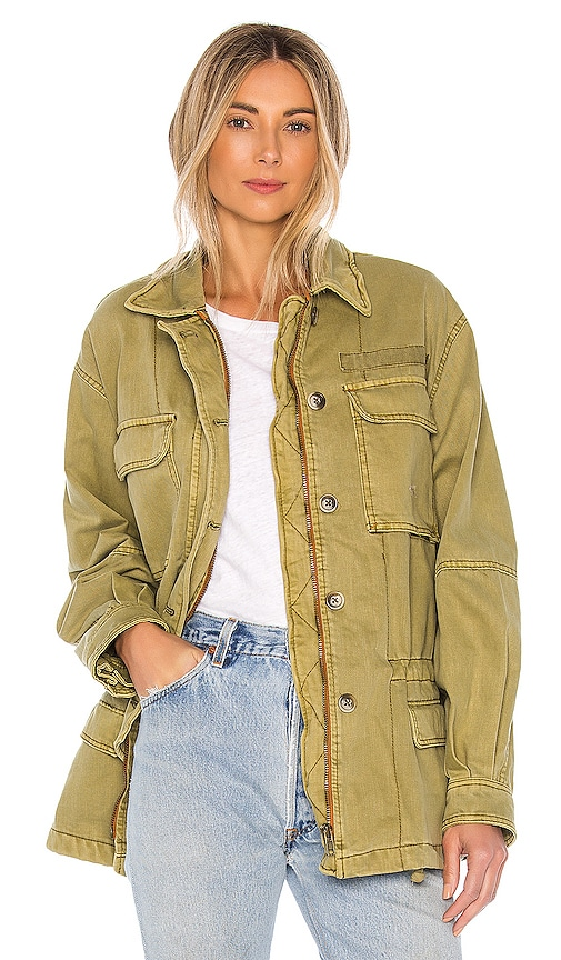 Vintage Coats & Jackets | Retro Coats and Jackets Free People Seize The Day Jacket in Olive. - size S also in M $76.00 AT vintagedancer.com