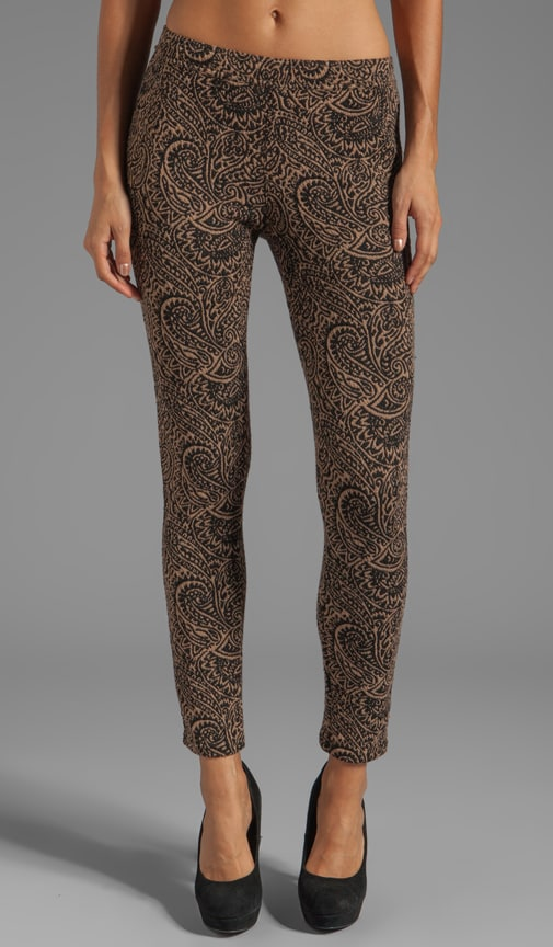 Knit Jacquard Legging
