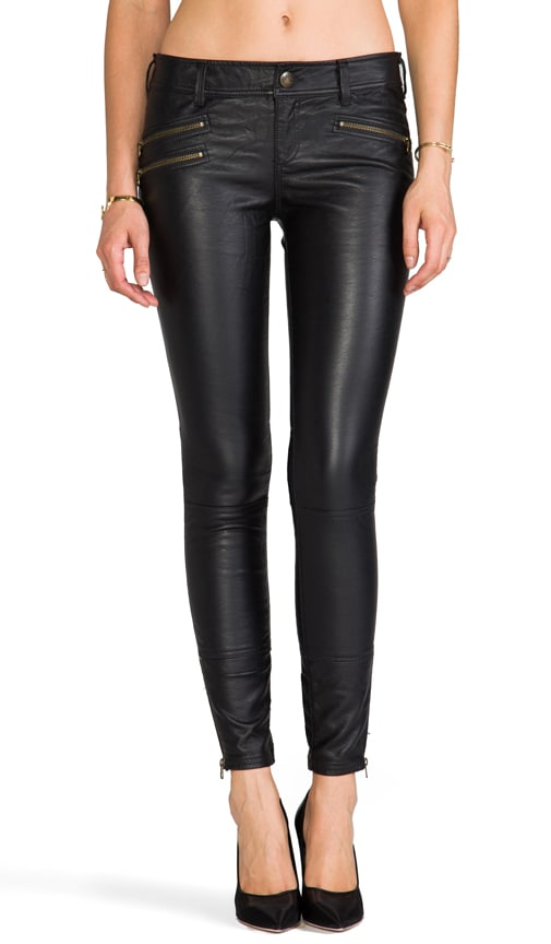 Skinny Vegan Leather Pant