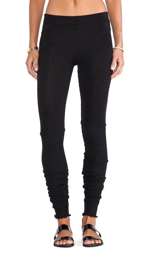 Heathered Knit Legging