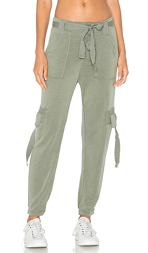 Free People Cannon Pant in Army