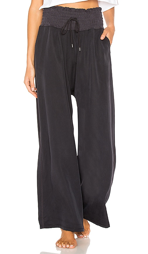 Free People Mia Pant in Black