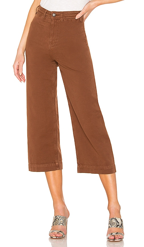 Free People Patti Pant in Cocoa | REVOLVE
