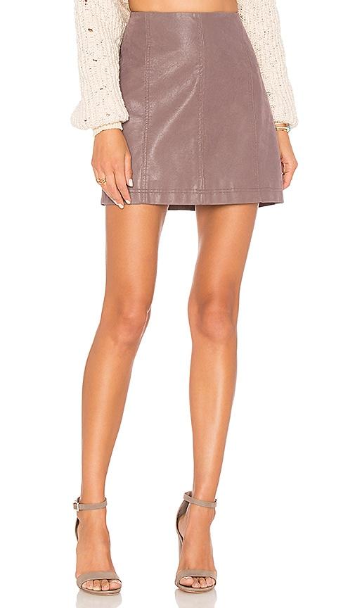 2edb4968ee Modern Femme Vegan Suede Mini Skirt. Modern Femme Vegan Suede Mini Skirt. Free  People
