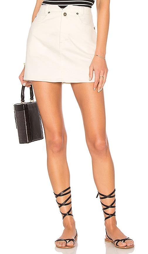 She's All That Denim Mini Skirt