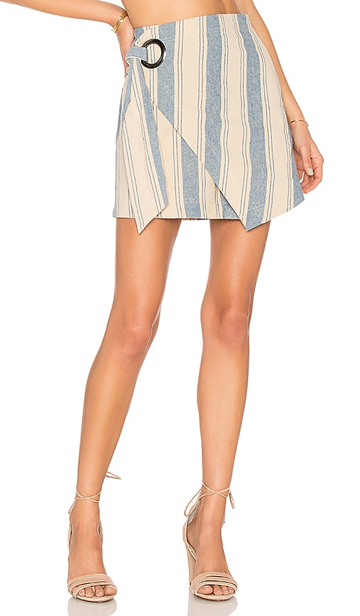 Tuscan Sunrise Skirt in Blue. - size 0 (also in 2,4,6,8) Free People