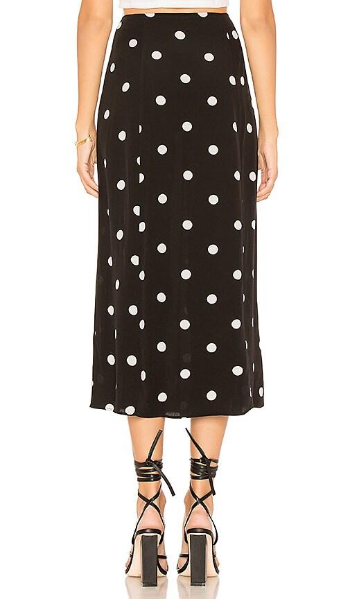 ba431b93712499 Free People Retro Love Midi Skirt in Black & White [7GgSi0312094 ...