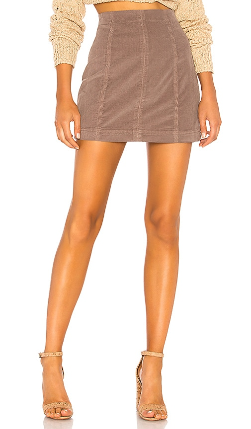 65232a45bed9 Modern Femme Cord Mini Skirt. Modern Femme Cord Mini Skirt. Free People