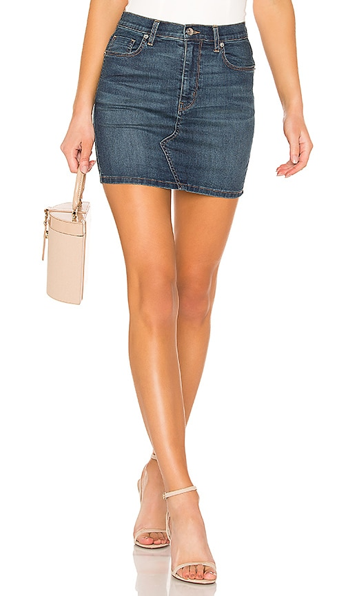 Teagan Denim Skirt