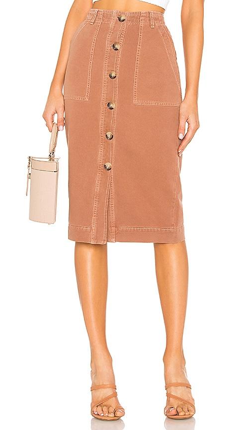 Mid Length Utility Skirt
