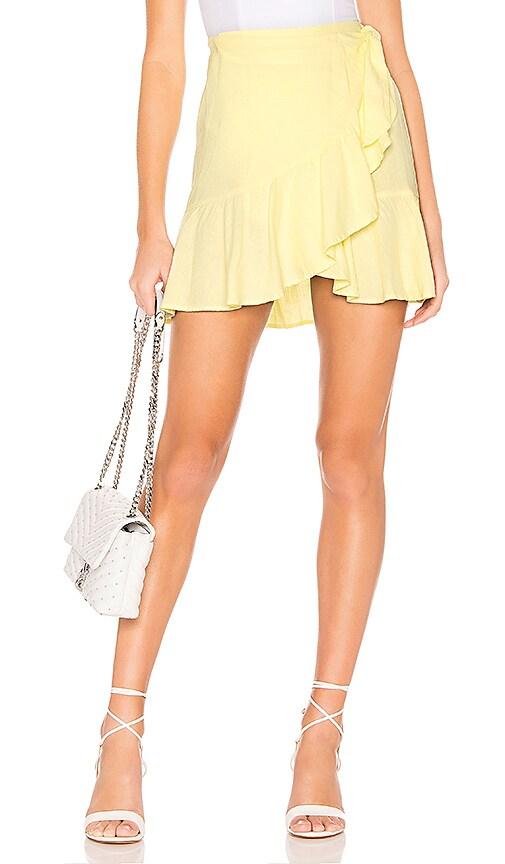 Ruffle My Feathers Mini Skirt