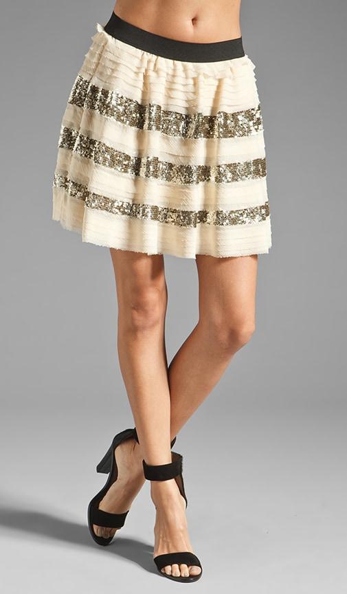 Sparkle and Stripe Skirt