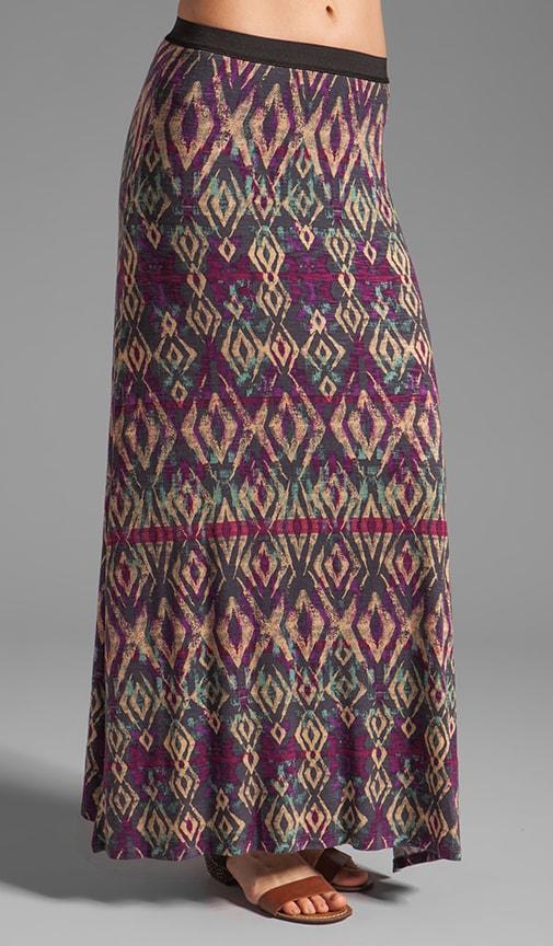 Sashaying Slub Skirt