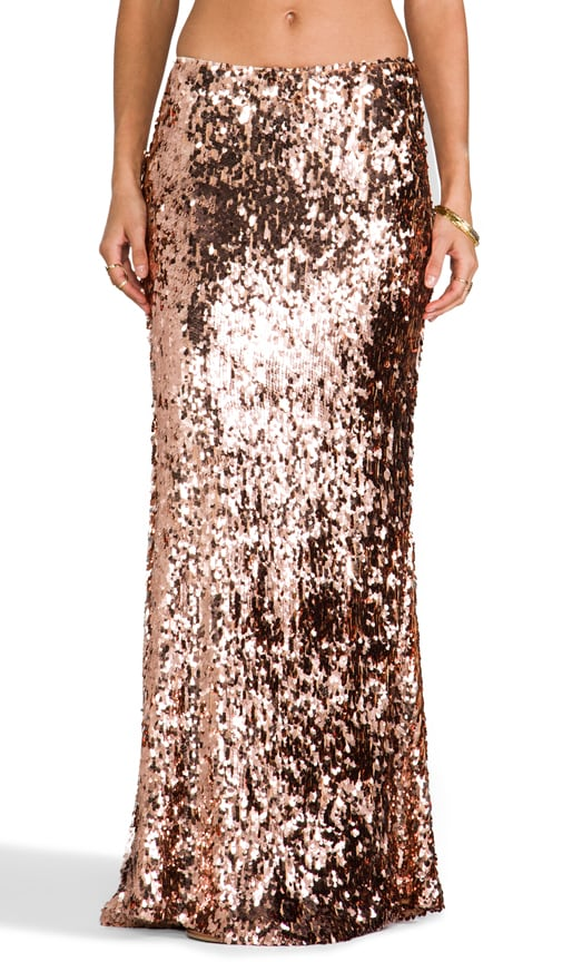 Sequins for Miles Skirt