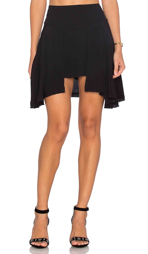 Free People New York Skirt in Black