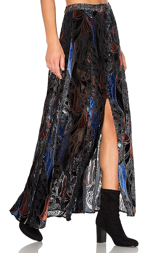 Velvet Burnout Love So Right Skirt