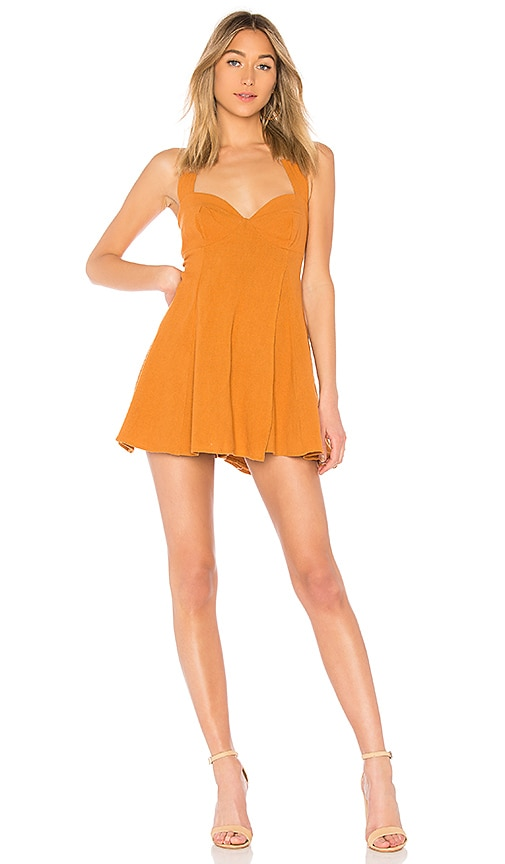 a301aefa65f2 Free People x REVOLVE She Can Shimmy Skort Romper in Canyon