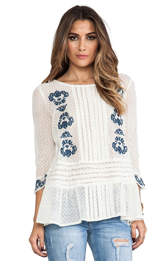 Jocelyn's Embroidered Top