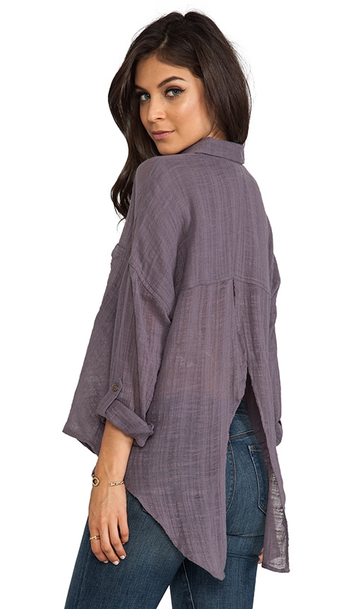 Shibori Siren Button Down