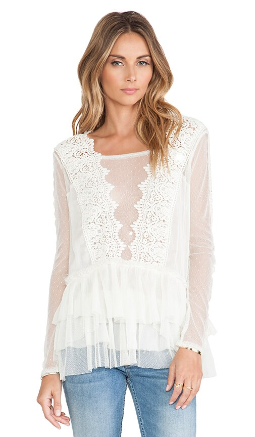 Midnight Memories Lace Top