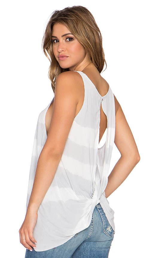 Free People Washed Away Tank in Grey