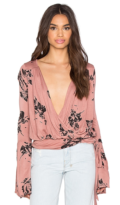 Free People Fiona Top in Pink