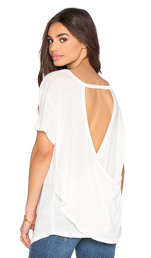 Free People Gemma Tee in Ivory
