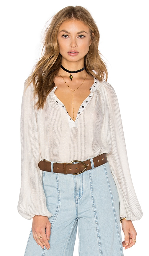 Free People Against All Odds Top in Ivory