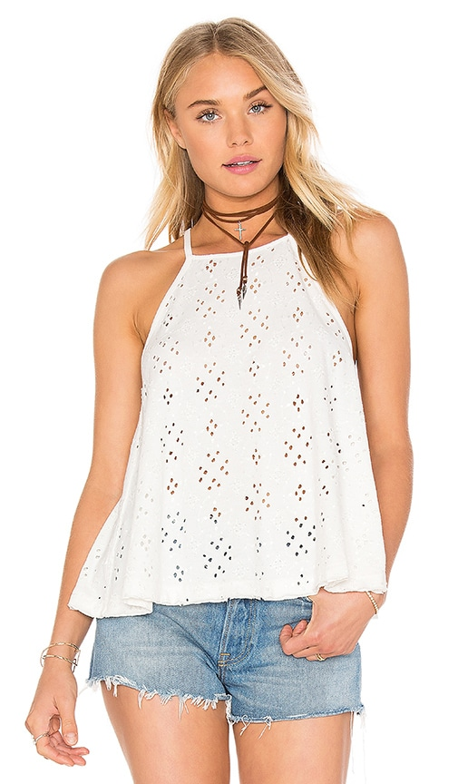 Free People Dream Date Top in Ivory