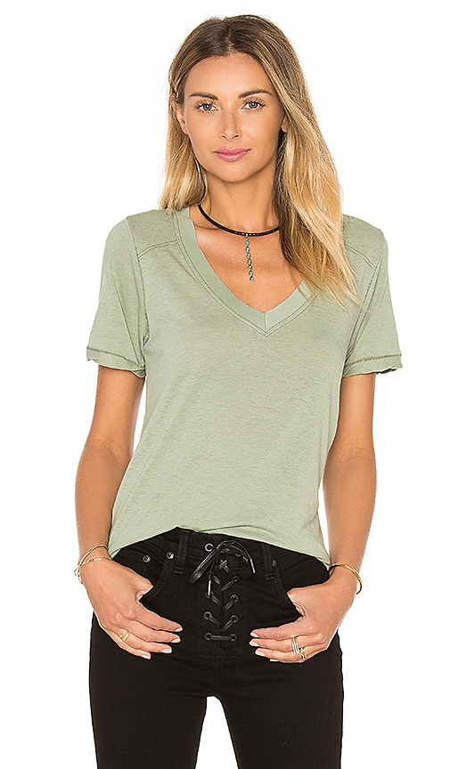 Free People Pearl's Tee in Green