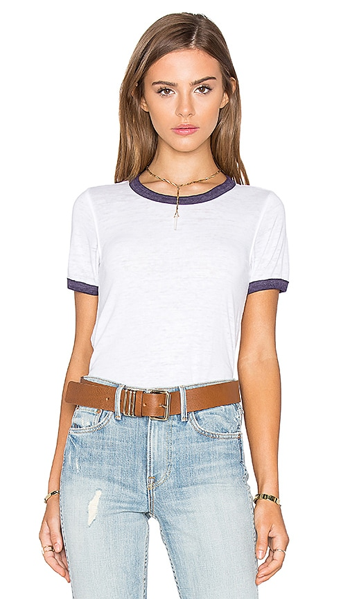 Free People Brixton Tee in White