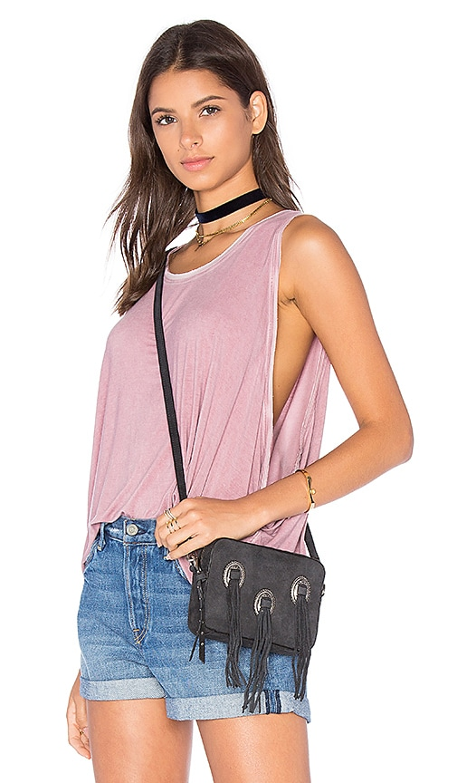 Free People Little Rock Tank in Rose