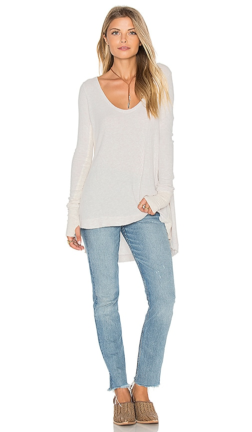 Free People Malibu Top in Ivory