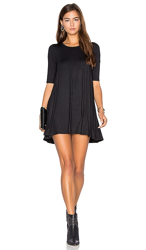 Free People Jacqueline Tunic in Black