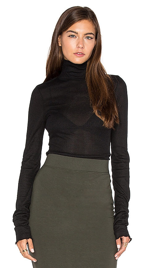 Free People Modern Cuff Layering Top in Black