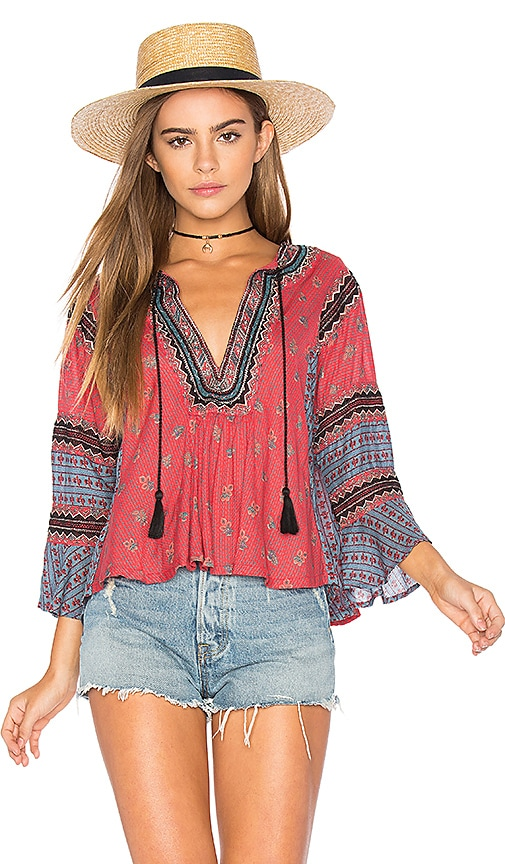 Free People But I Like It Top in Red
