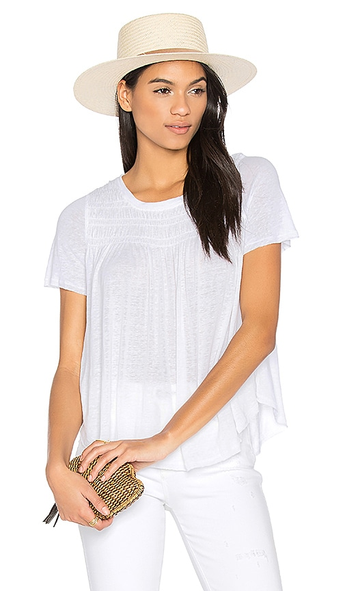 Free People Dani Tee in White